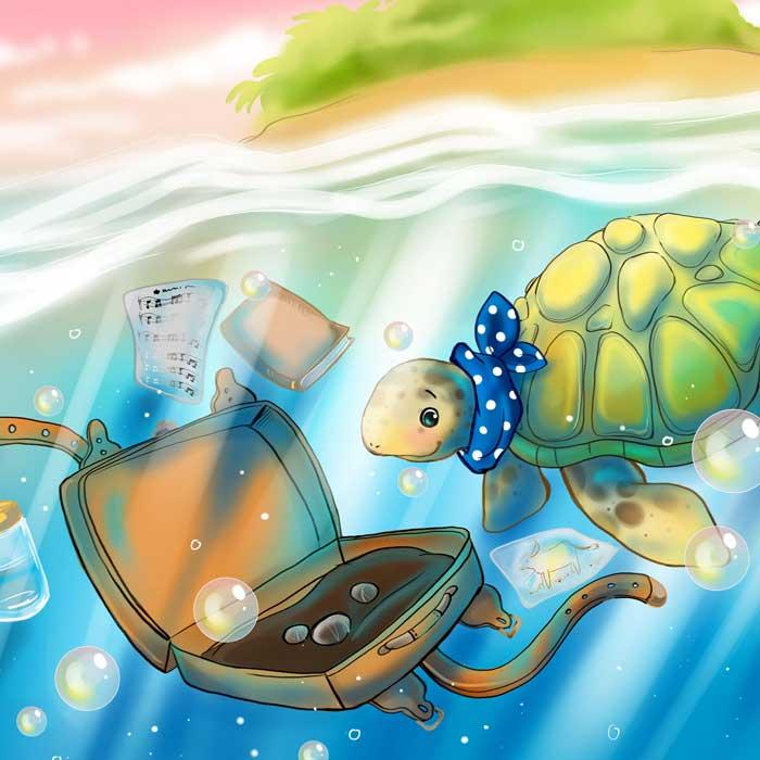 Kinderbuchillustrationen Tortü