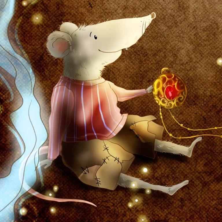 Illustrationen Magische Bücherei