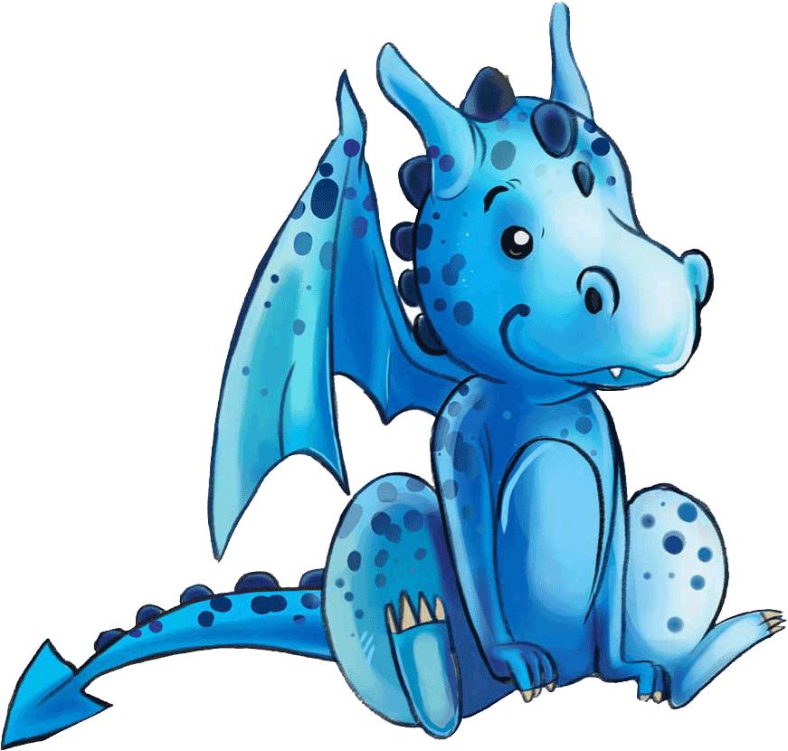drache kinderbuch Illustration illustrieren Illustratorin blauer